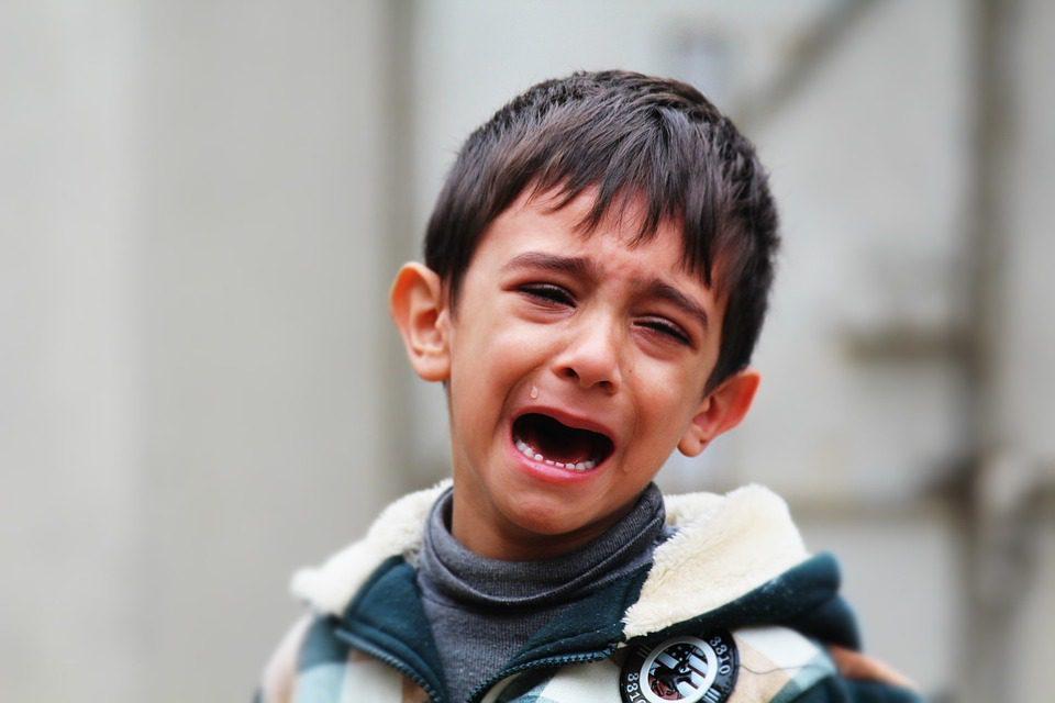 Enfant pleurant