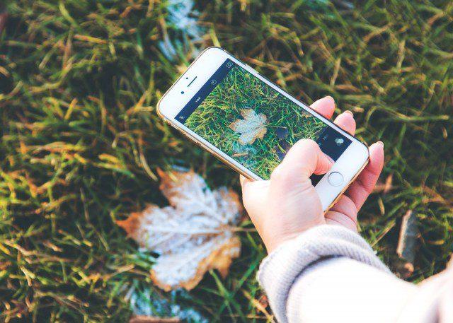 Photo sur Apple