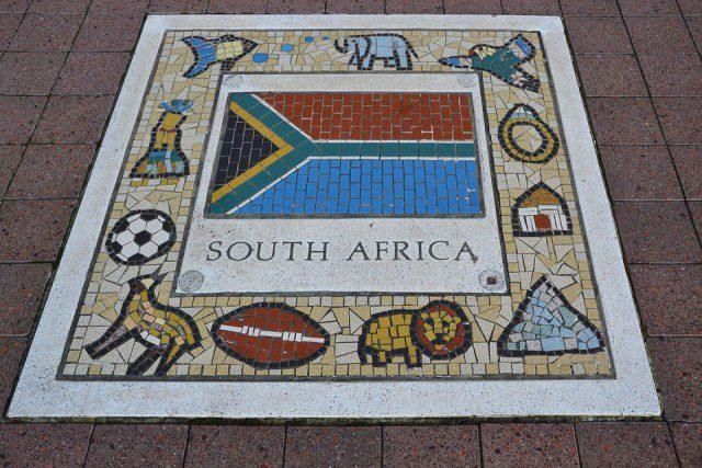 Afrique du Sud Fresque