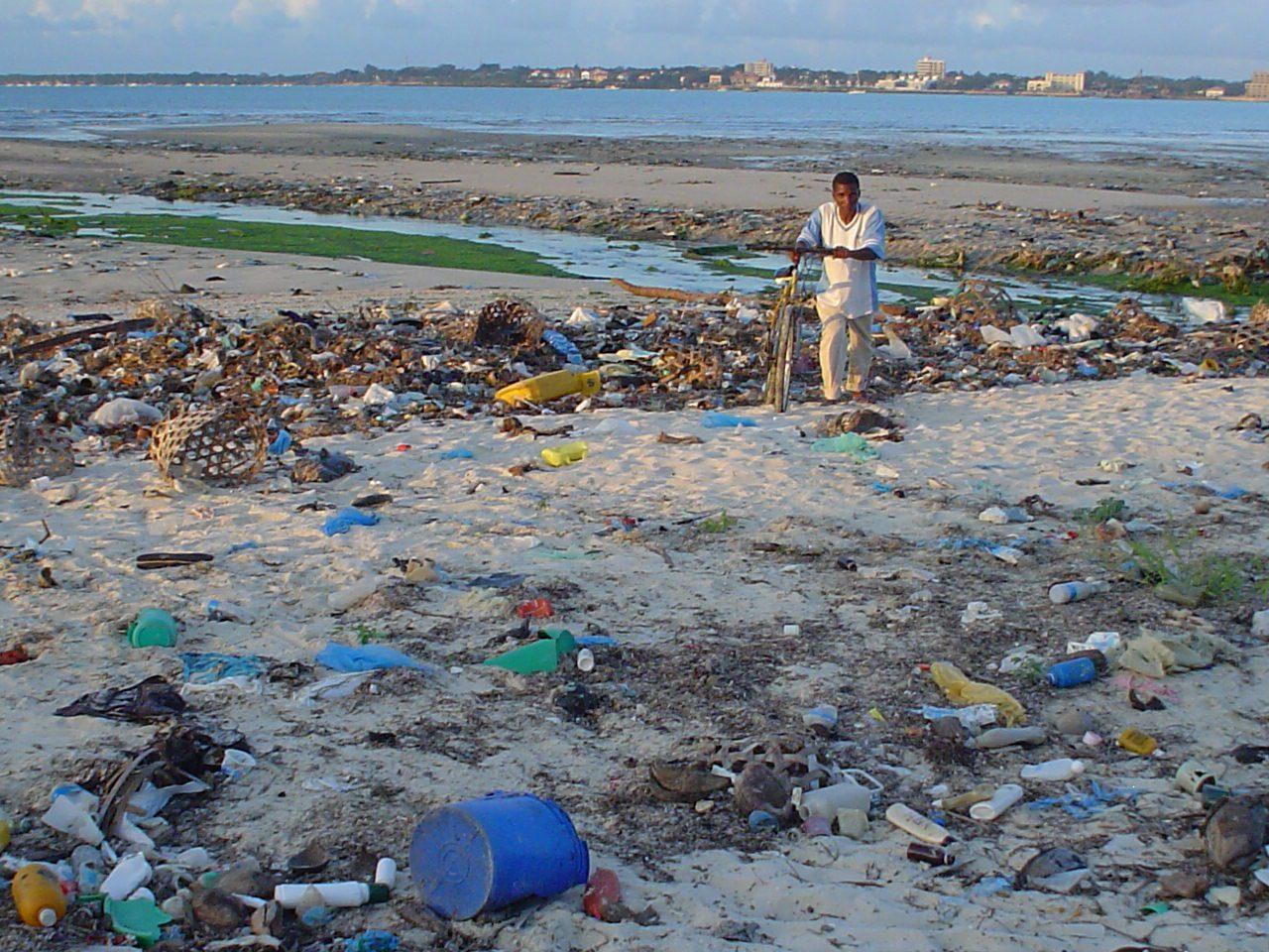 Les plastiques redonnés par les océans
