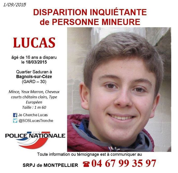 Retrouvons Lucas