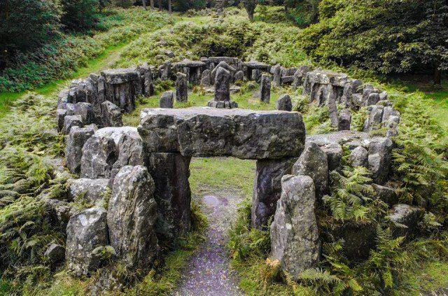 La terre des Druides