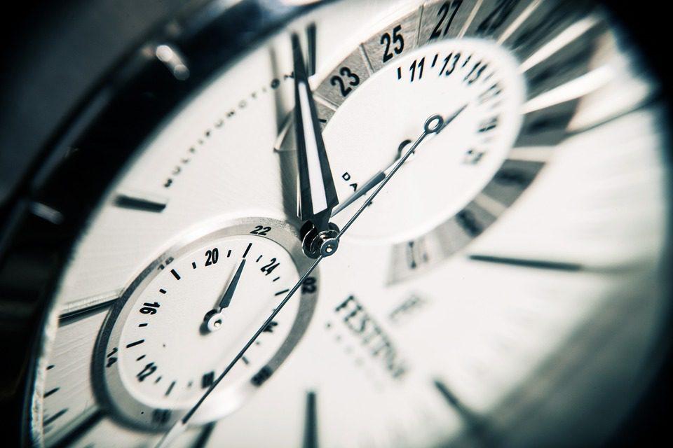 Le changement d'heure
