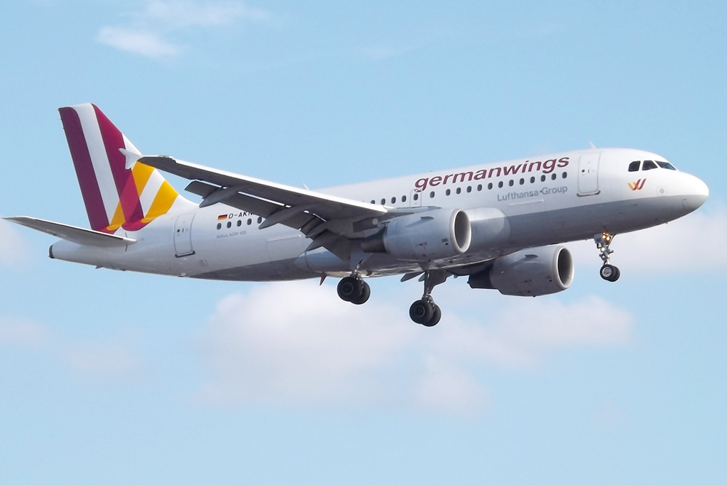 Un avion de la Germanwings