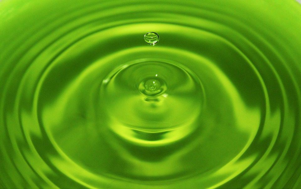 Liquide vert