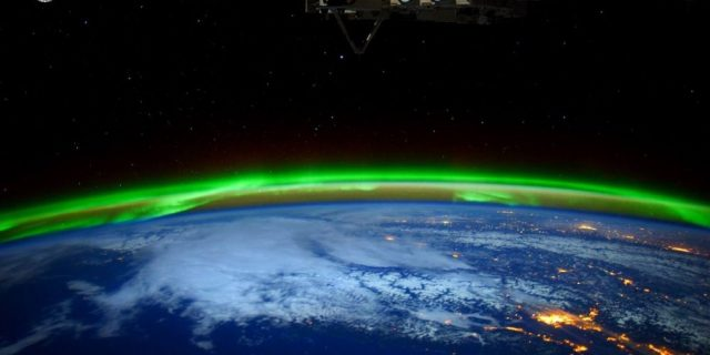 NASA Aurores Polaires