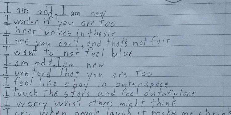 Poème Enfant Autisme