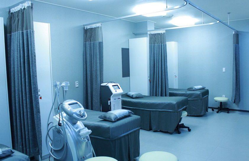 Une salle d'hôpital