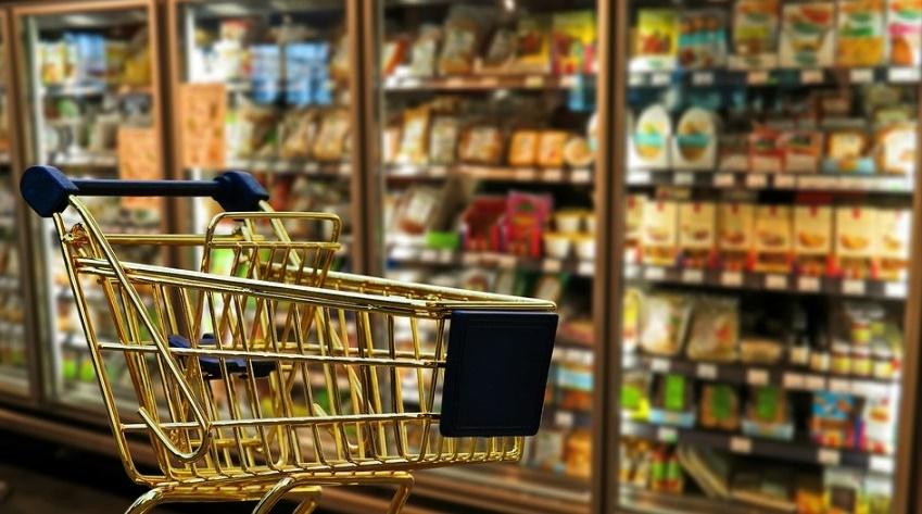 Des courses alimentaires