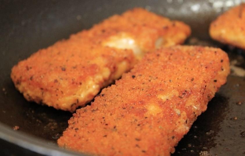 Un poisson pané