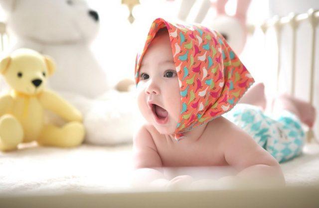 Un lit pour bébé