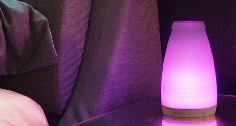 Lampe de chevet douce