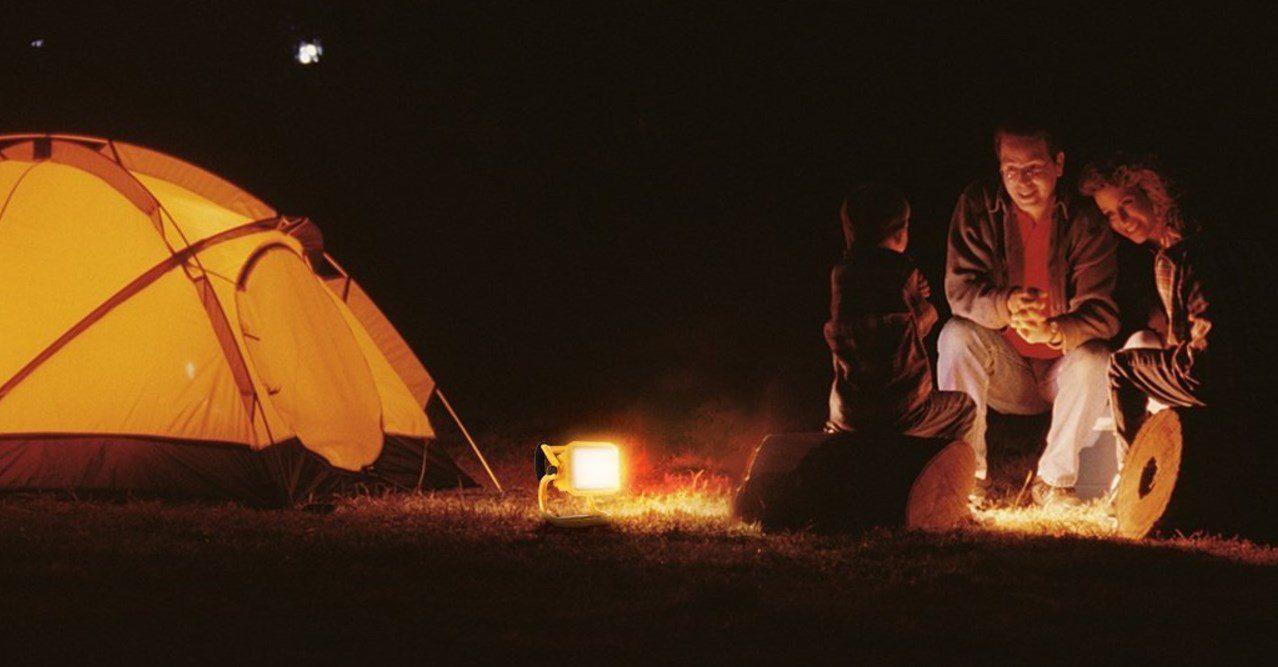 Projecteur pour le camping