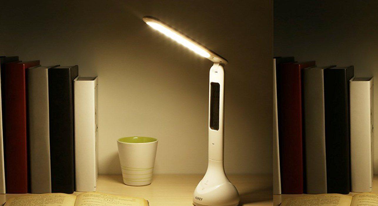 Une lampe de bureau