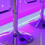 Un ruban LED et de nombreuses couleurs