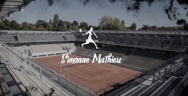 Simonne Mathieu à Roland Garros
