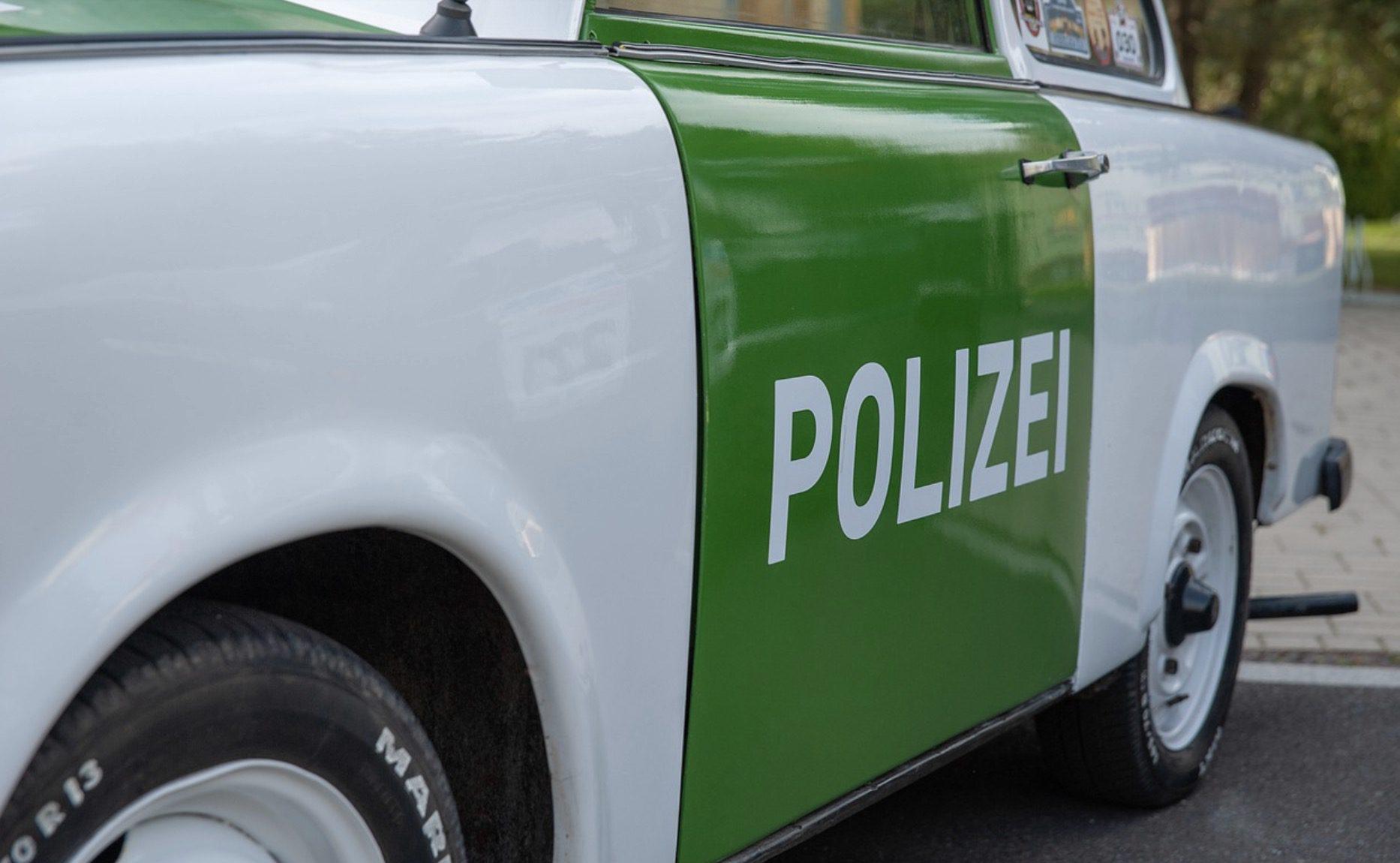 La police en Allemagne