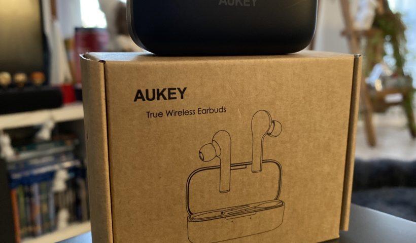 Des écouteurs Aukey Bluetooth 5