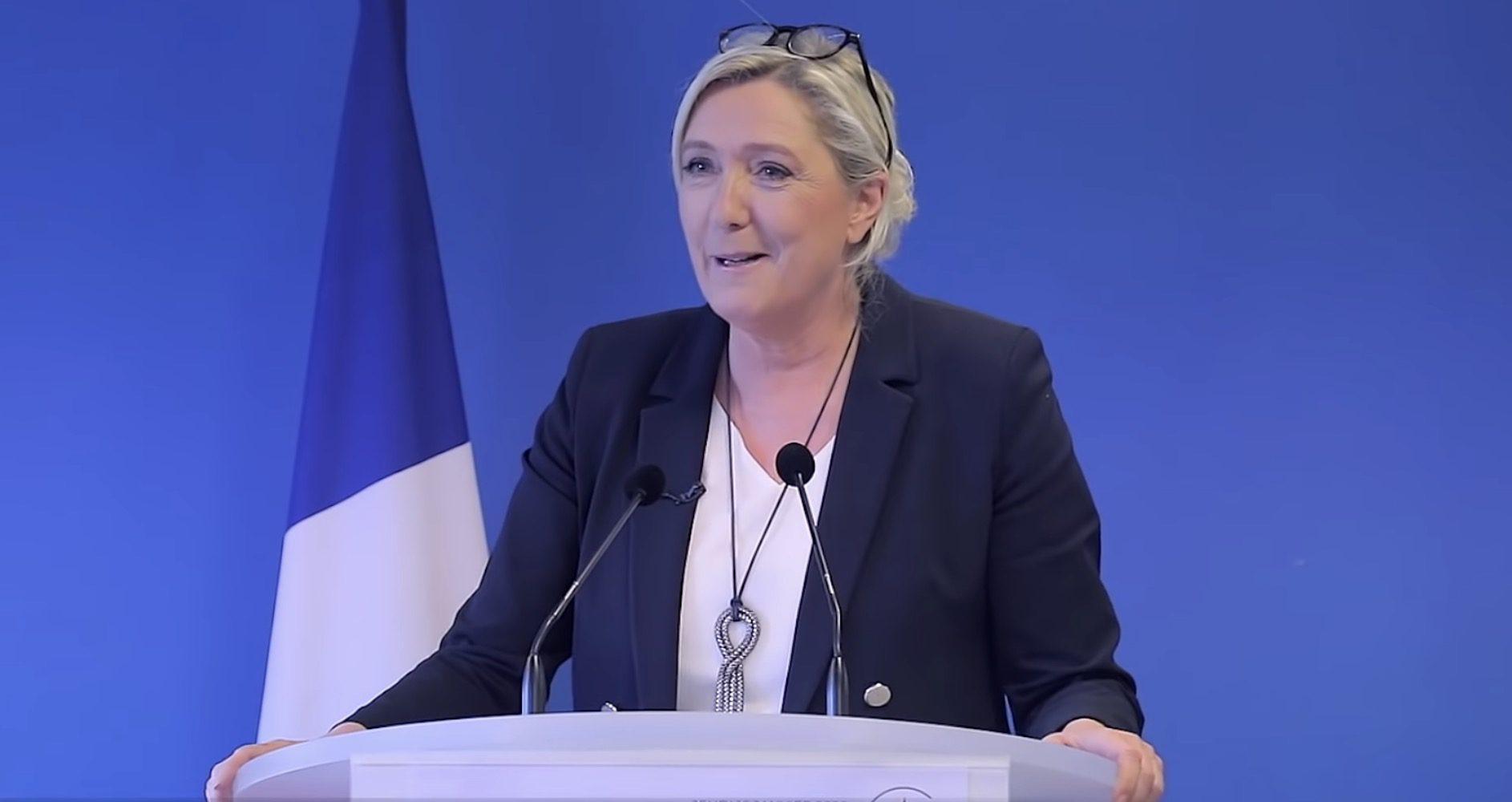 Marine Le Pen pour 2022