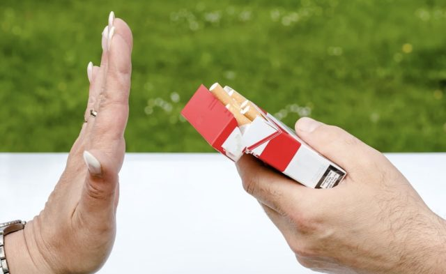 Laser anti tabac