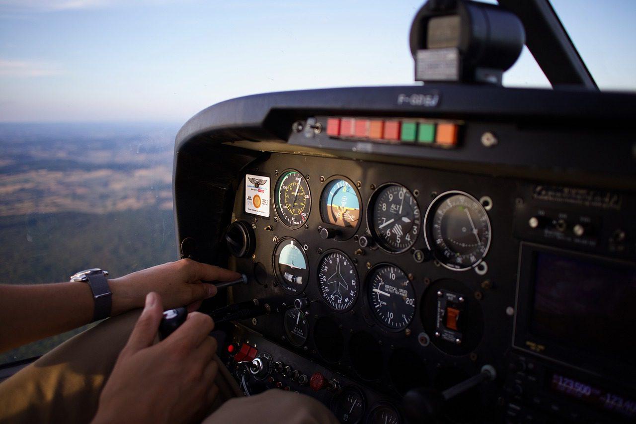bapteme pilotage avion